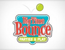Big Time Bounce Logo & Brochure