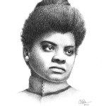 Black History Month portraits - Ida B. Wells