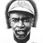 Black History Month portraits - Jackie Robinson