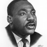 Black History Month portraits - Martin Luther King Jr.