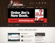 Pastor Jim Lyon Website