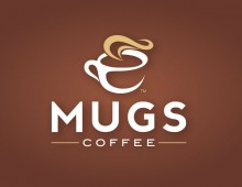 MUGS Coffee Logo & Website