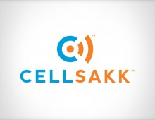 CellSakk Logo, Packaging and Illustration