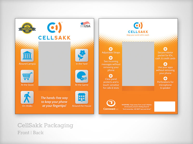 CellSakk Packaging