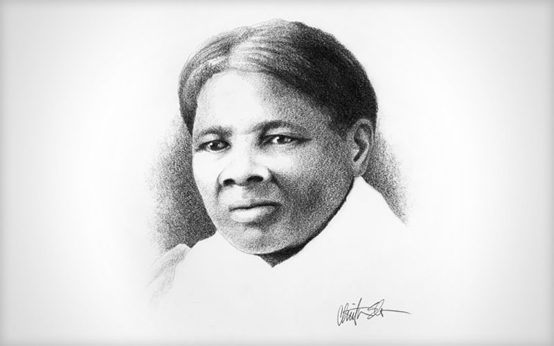 Harriet Tubman portrait | Elden Creative Group