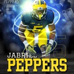 Jabrill Peppers Photoshop Design
