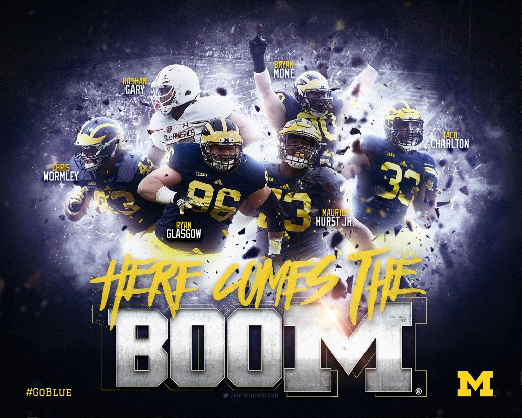 Michigan Football defensive line