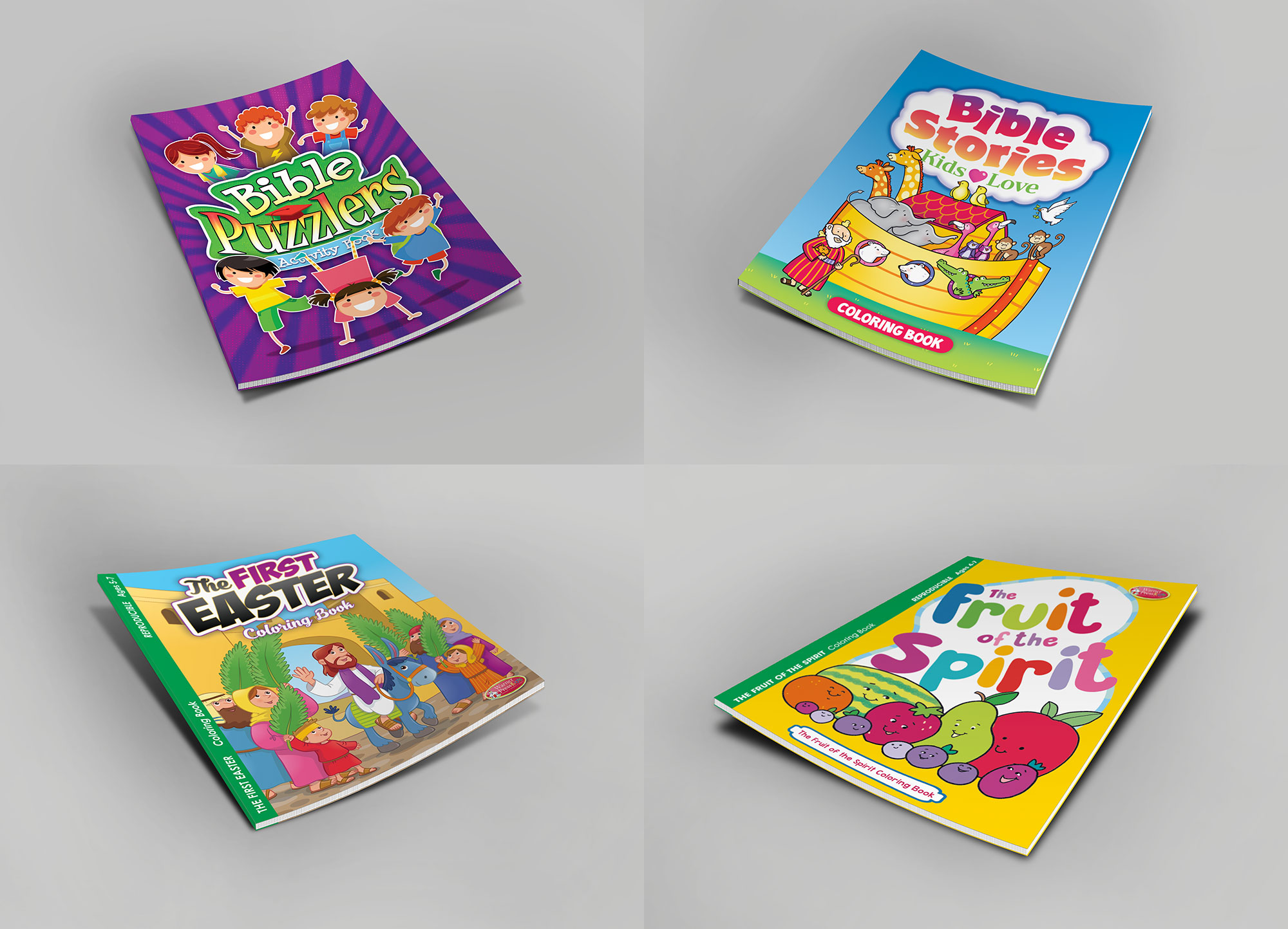 Cover Design For Childrens Activity Books